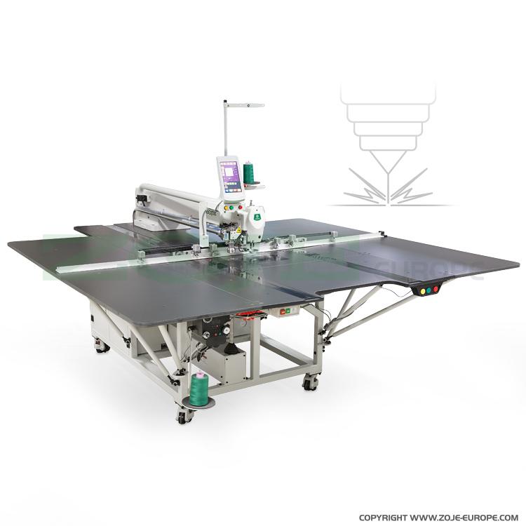 Dodatkowe Maszyna do stebnowania programowanych wzorów na bardzo dużych QH43
