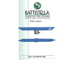 Prasulec do zaszewek dwustronny - BATTISTELLA FASTENER DOUBLE BUCK
